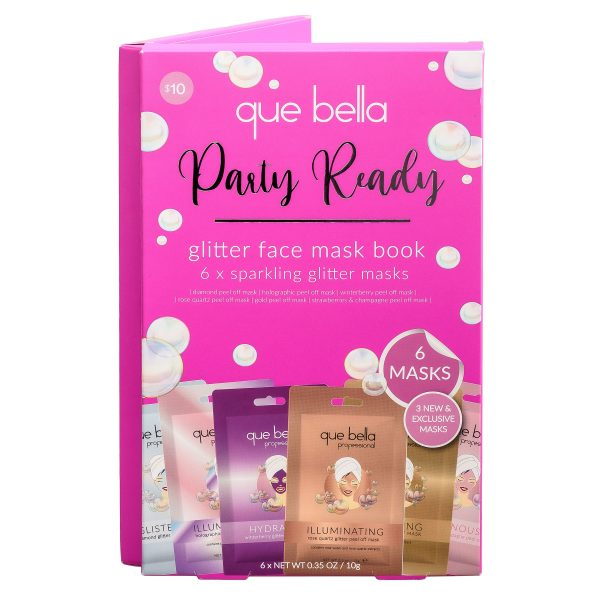 Que Bella Glitter Peel off Mask Pack