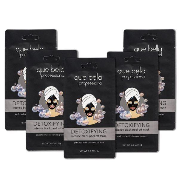 Black peel off Mask 5 pack