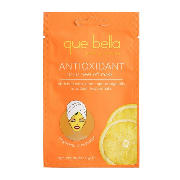 Citrus peel off Mask