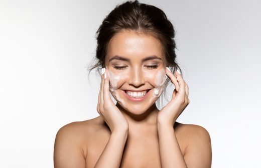 What is microdermabrasion and how can a face mask help?